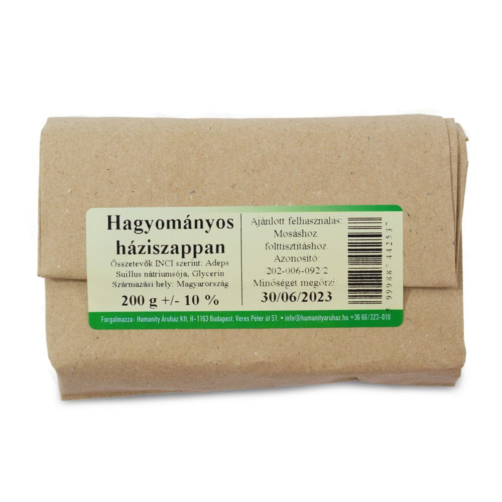 Mosószappan (hagyományos) kb. 200 gramm