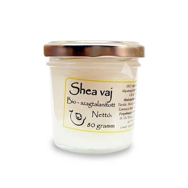 Shea vaj (dezodorált) 80 gramm