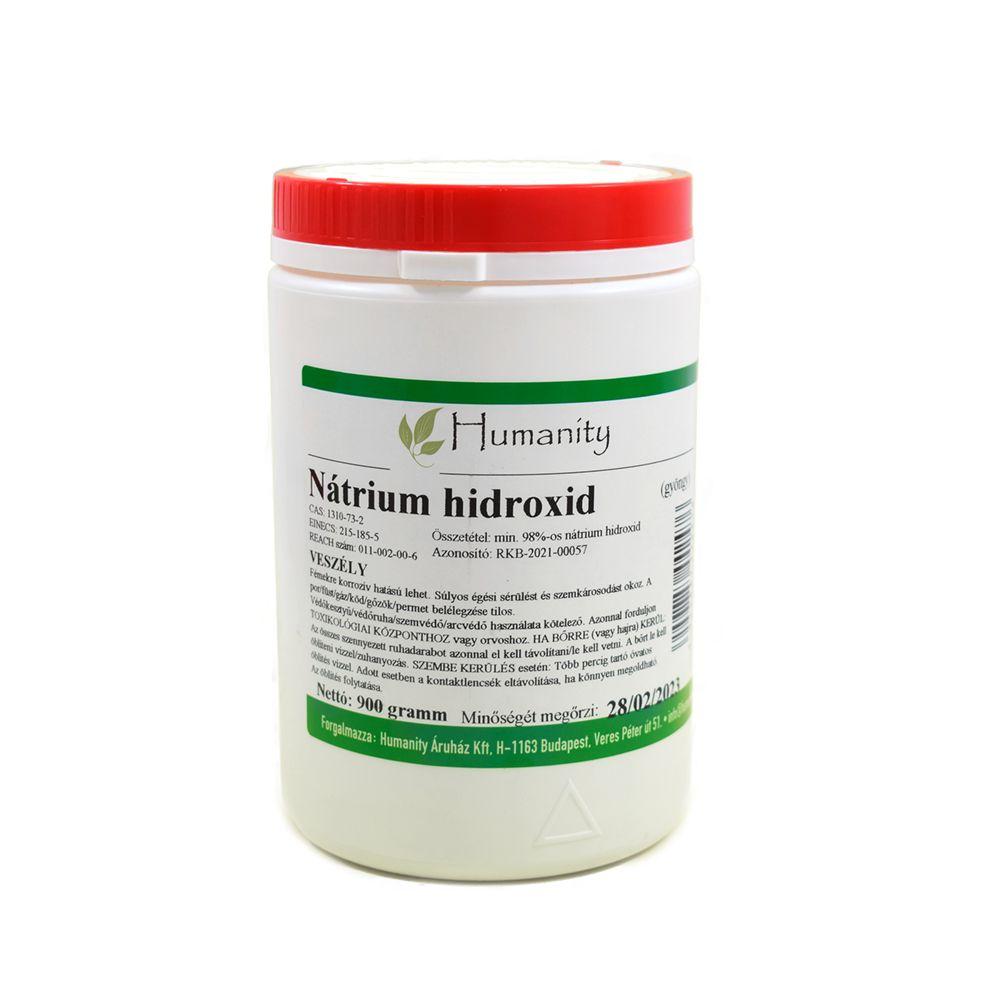 Nátrium-hidroxid gyöngy 900 gramm