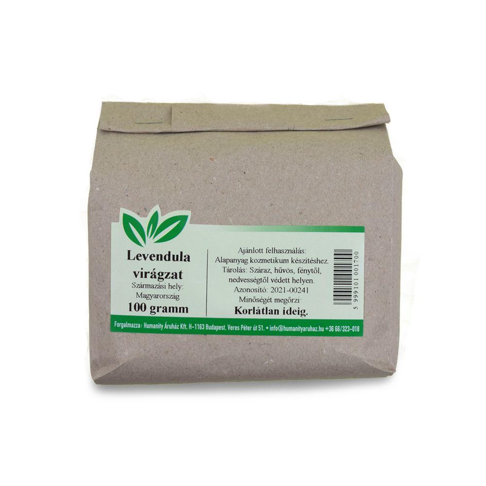 Levendula virágzat 100 gramm