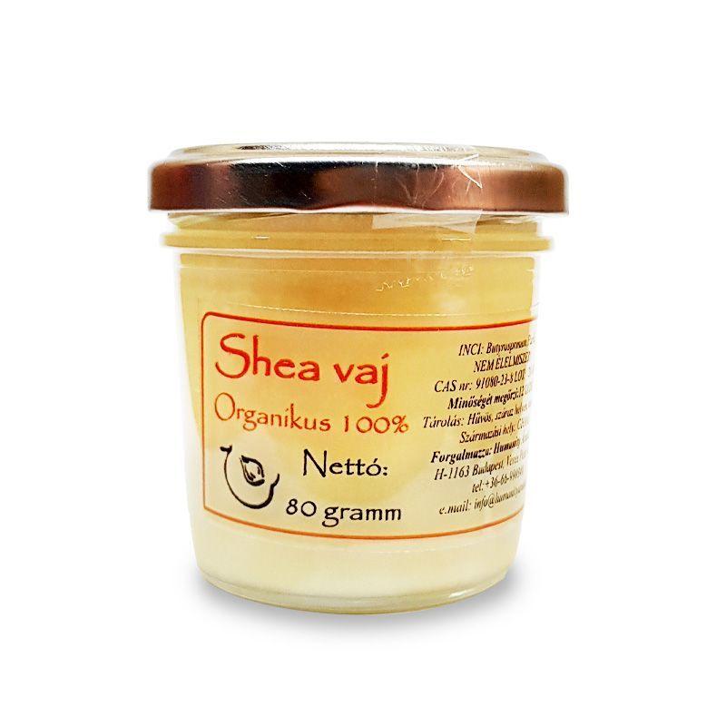 Shea vaj natúr, finomítattlan 80 gramm