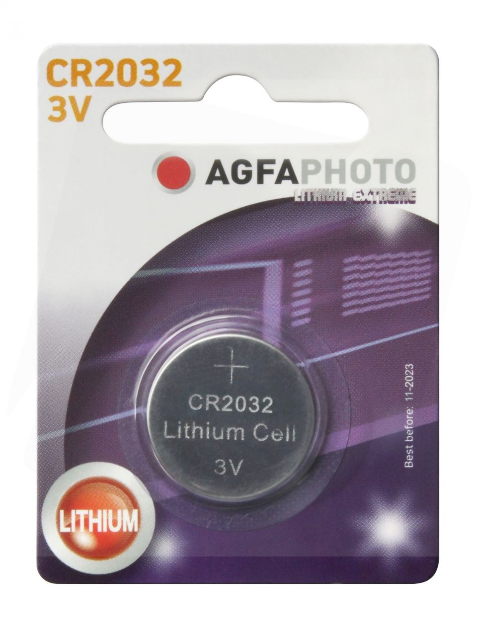 AgfaPhoto Gombelem Lítium CR2032
