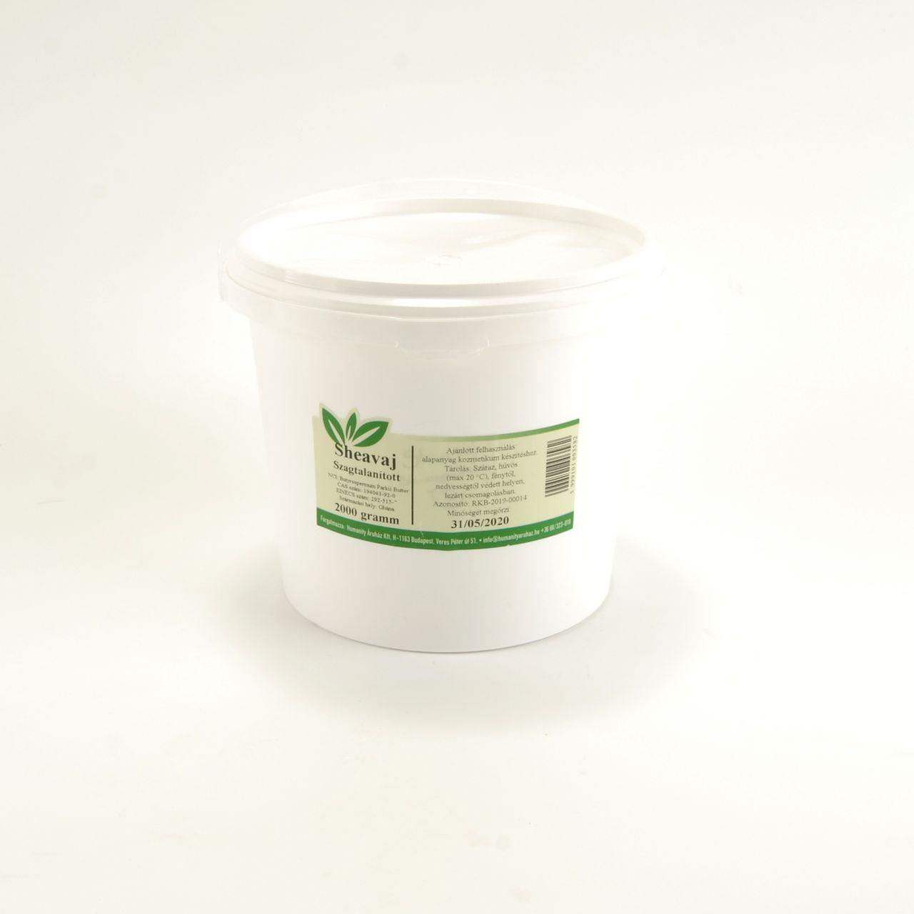 Shea vaj tömb (dezodorált) 2000 gramm