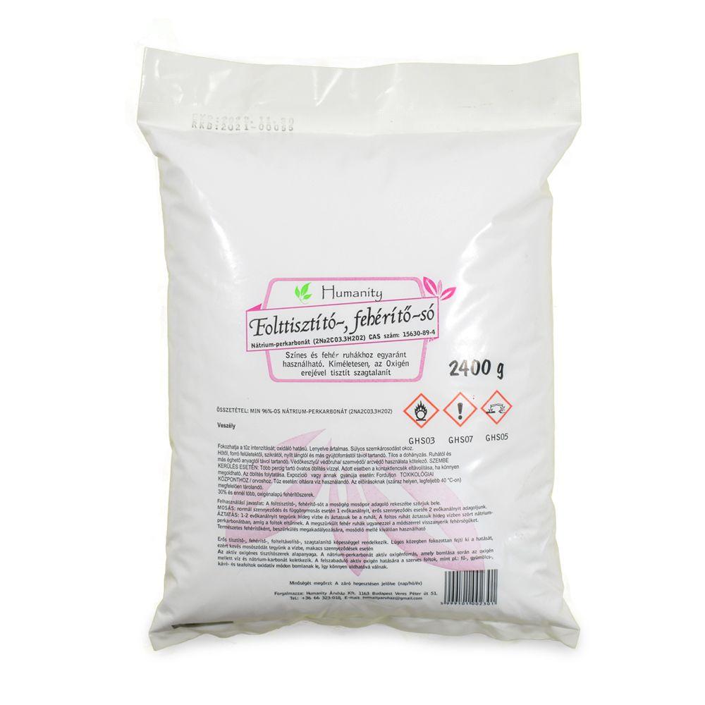 Folttisztító-, fehérítő-só (nátrium perkarbonát) 2400 gramm