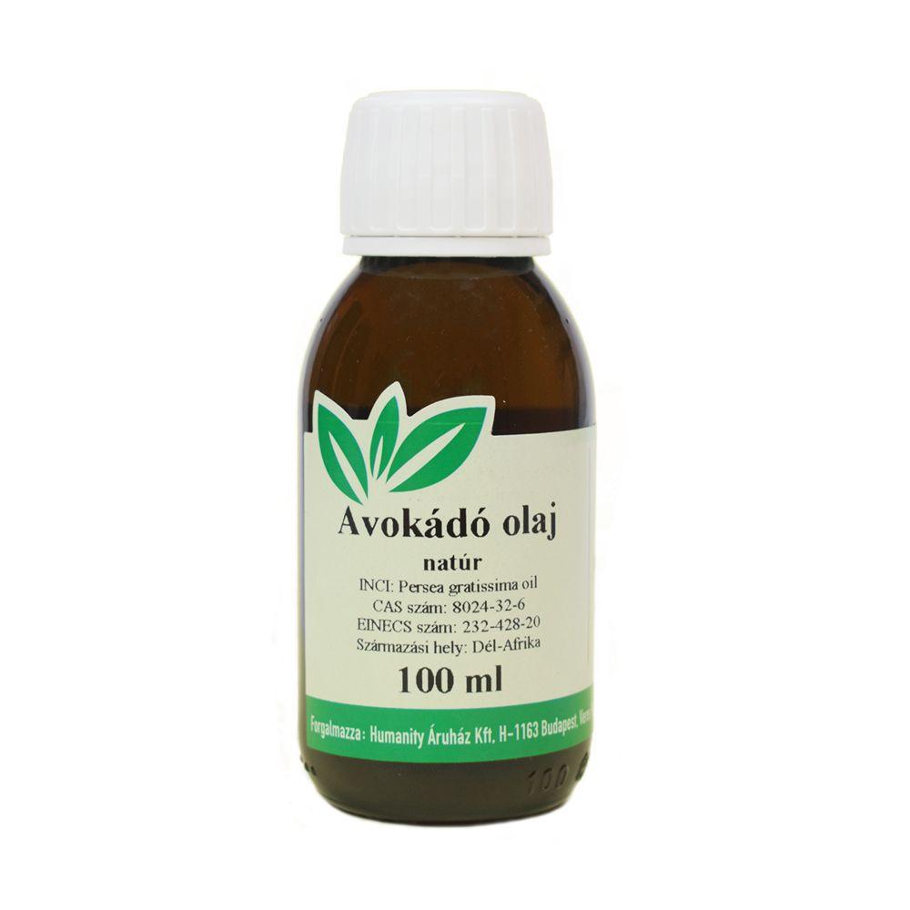Avokádó olaj natúr 100 ml