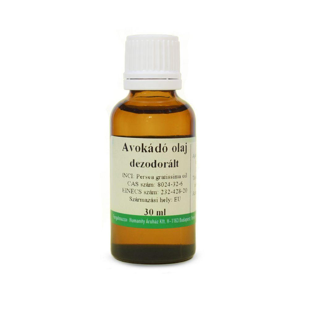 Avokádó olaj 30 ml dezodorált
