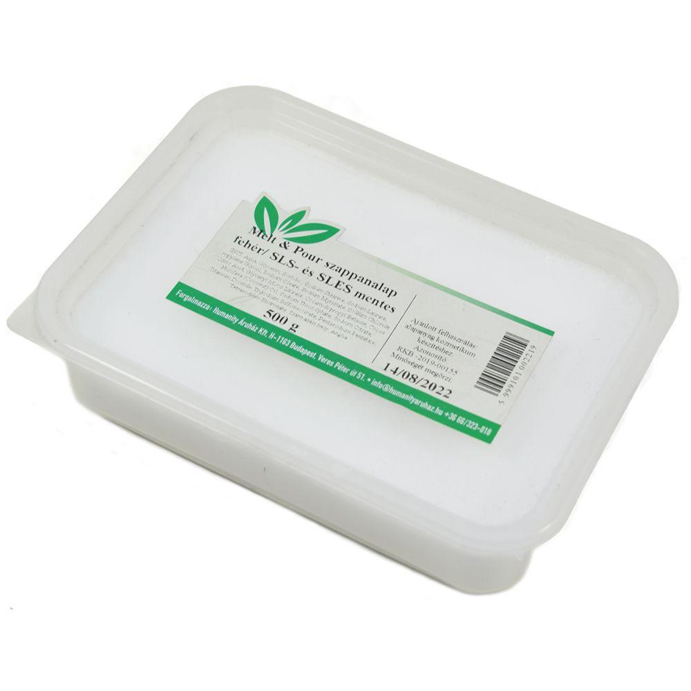 Melt & Pour fehér szappanalap 500 gramm