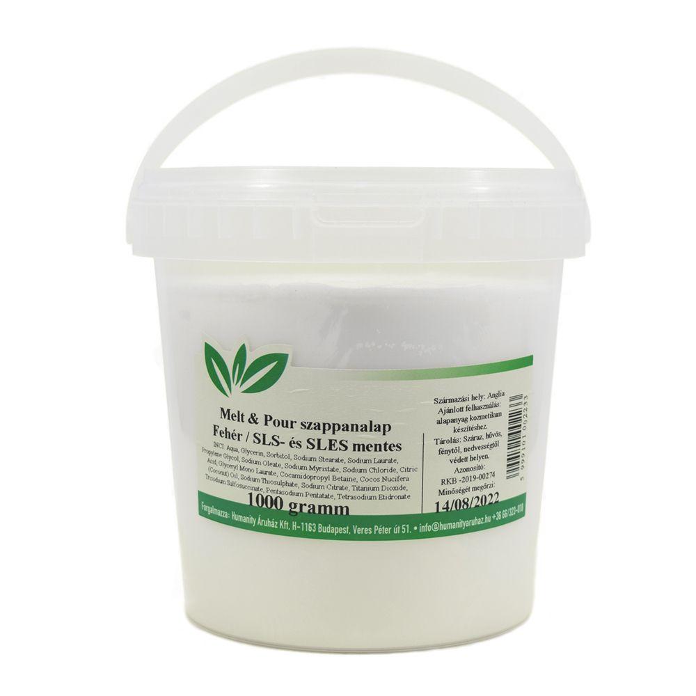Melt & Pour fehér szappanalap 1 kg