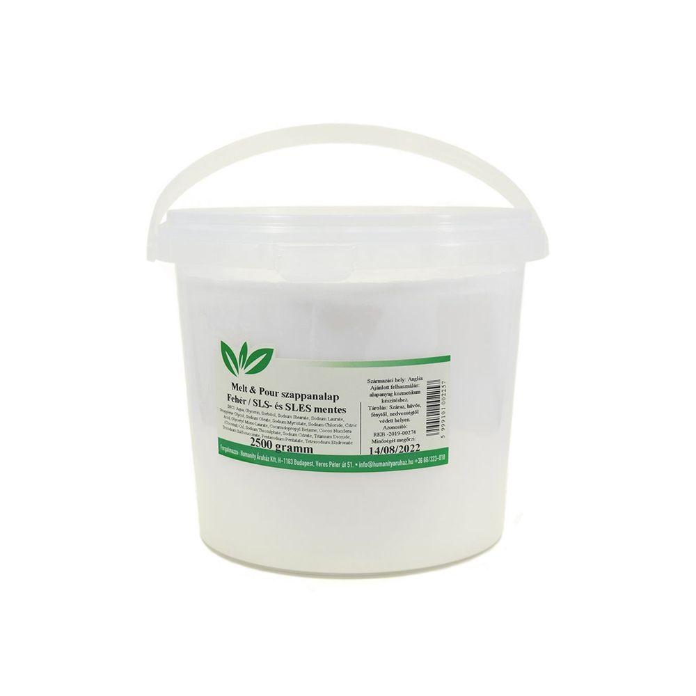 Melt & Pour fehér szappanalap 2,5 kg