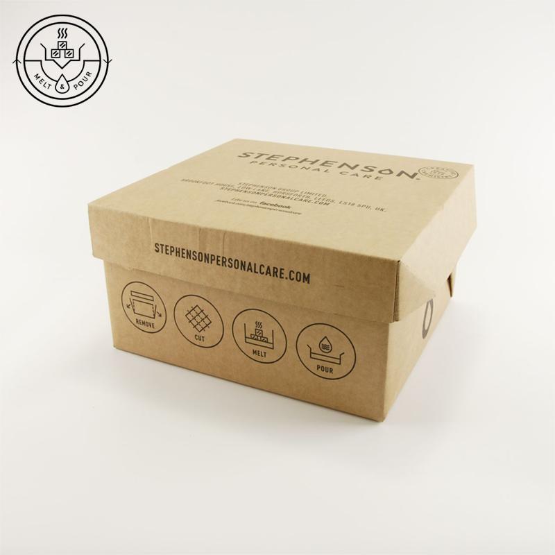 Melt & Pour szappanalap (transzparens) 11,5 Kg kartonos