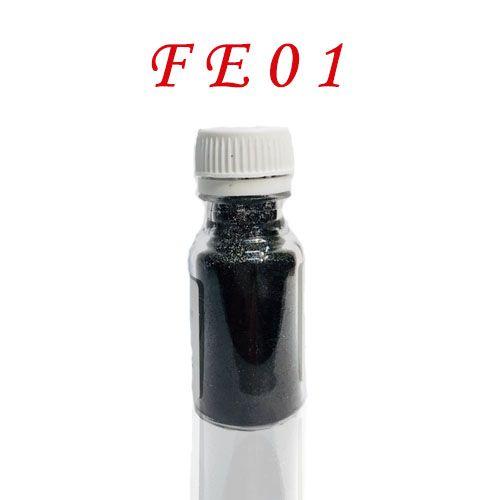 Fekete csillámpor FE01