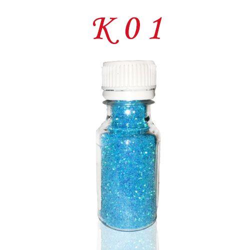 Kék színű csillámpor K01