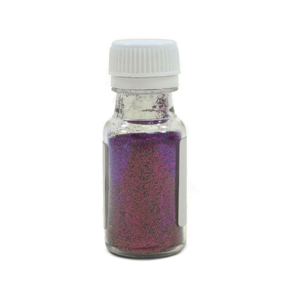 Lila színű csillámpor L04
