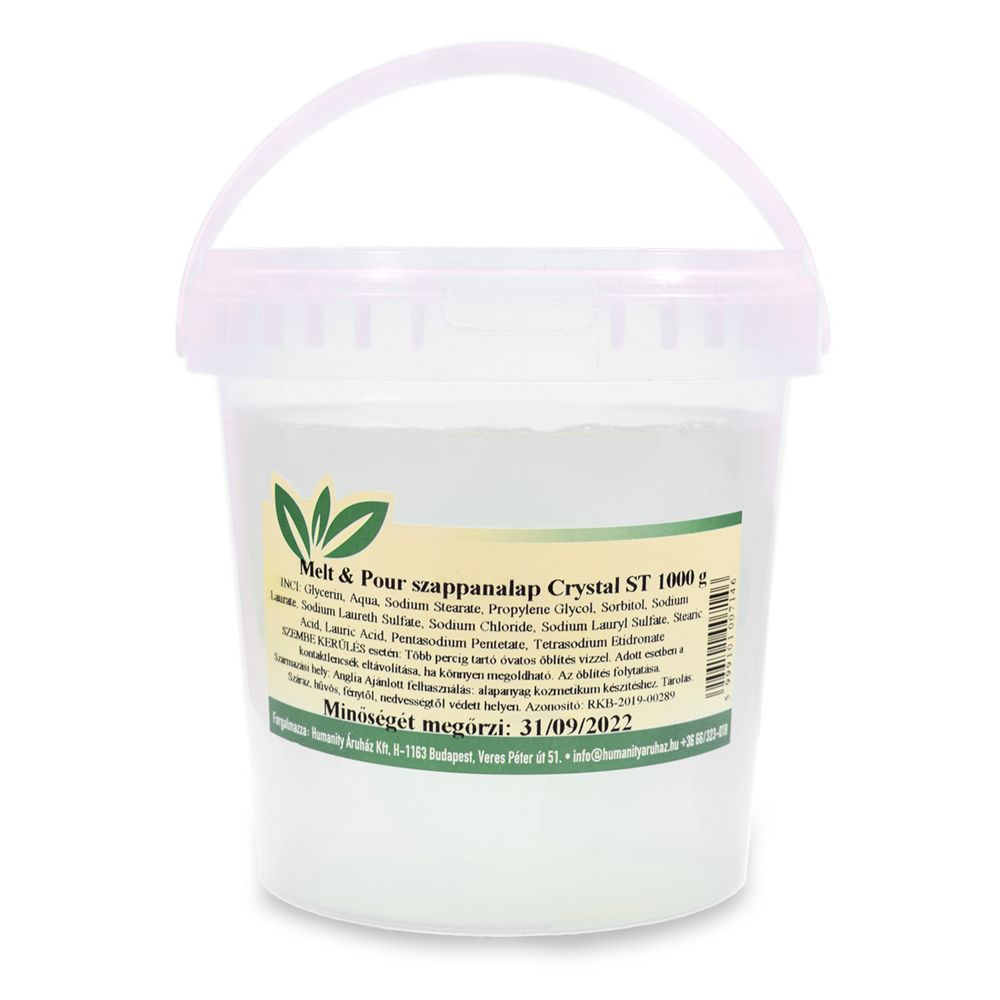 Melt & Pour szappanalap Crystal ST ( Transzparens ) 1 kg