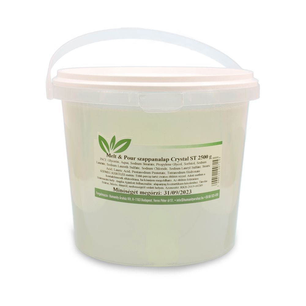 Melt & Pour szappanalap Crystal ST ( Transzparens ) 2,5 kg