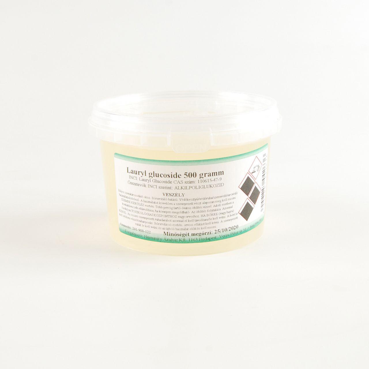 Lauryl Glucoside / Sűrítő tenzid 500 gramm