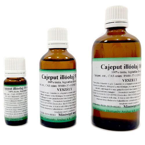 Cajeput 100% tisztaságú, természetes illóolaj 100 ml