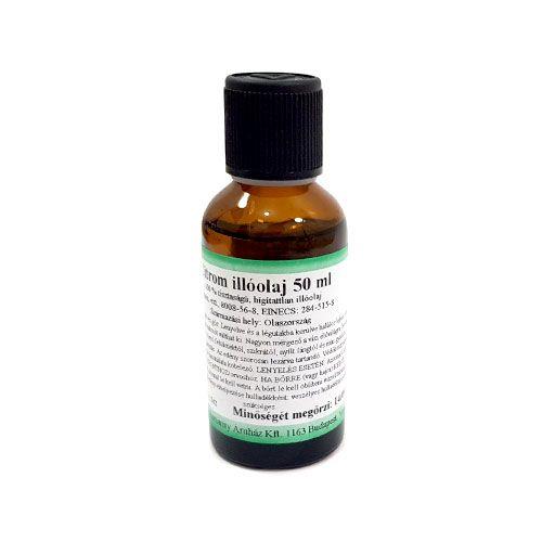 Citrom 100% tisztaságú, természetes illóolaj 50 ml