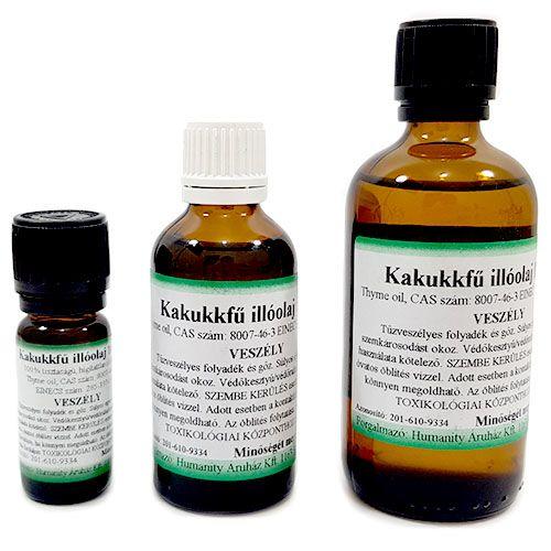 Kakukkfű 100% tisztaságú, természetes illóolaj 100 ml