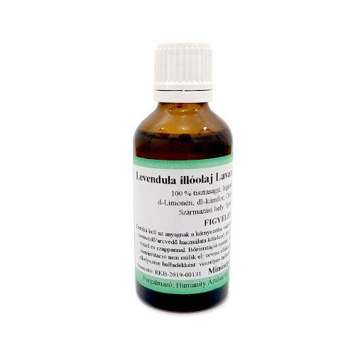 Levendula ( Lavandin Grosso ) 100% tisztaságú, természetes illóolaj 50 ml