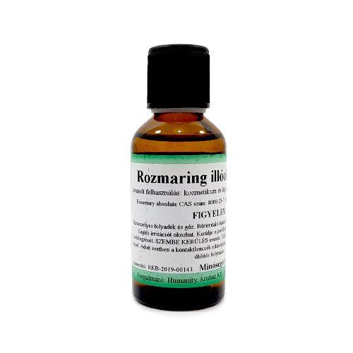 Rozmaring 100% tisztaságú, természetes illóolaj 50 ml