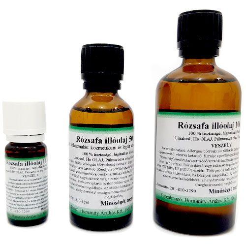 Rózsafa 100% tisztaságú, természetes illóolaj 50 ml