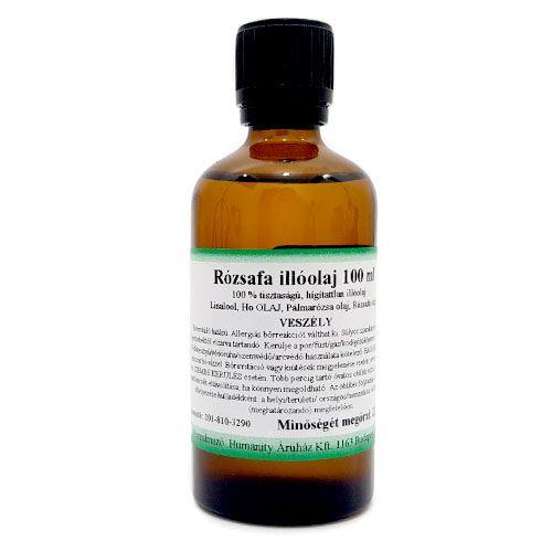 Rózsafa 100% tisztaságú, természetes illóolaj 100 ml