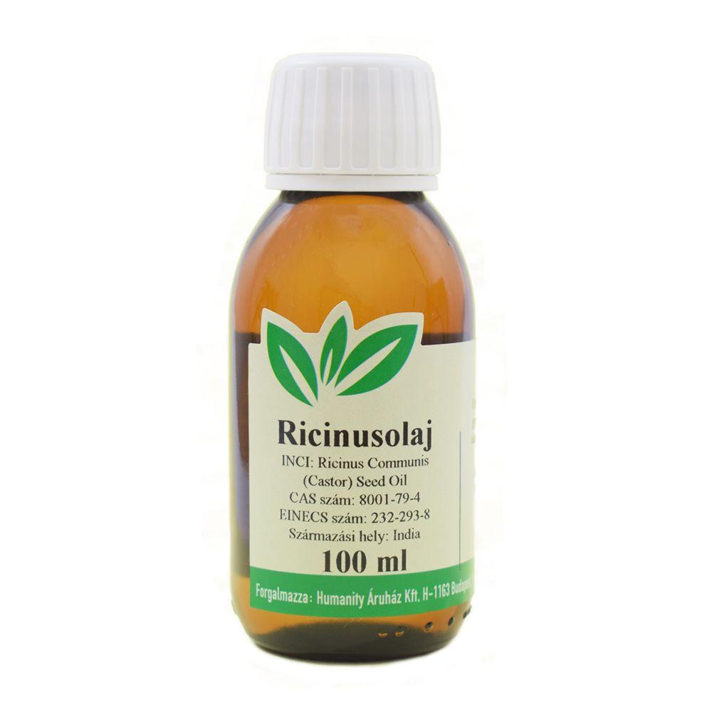 Ricinusolaj szűz / Castor oil, gyógyszerkönyvi tisztaságú 100 ml