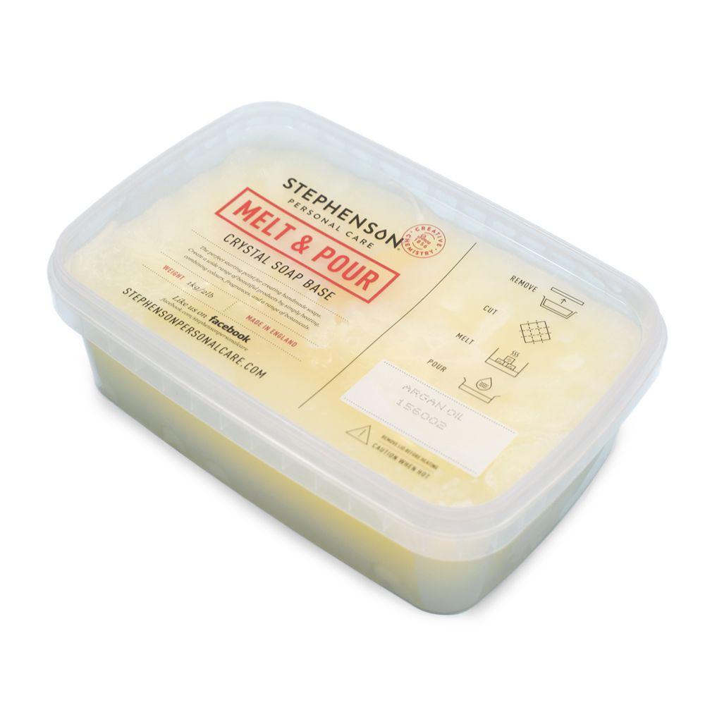 Melt & Pour szappanalap argán olajos 1 kg
