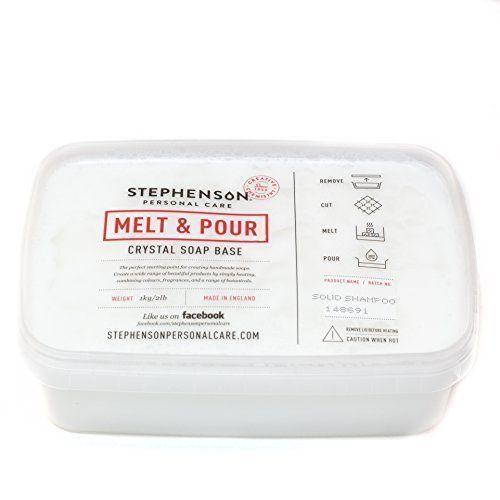 Melt & Pour szilárd sampon alap 1 kg