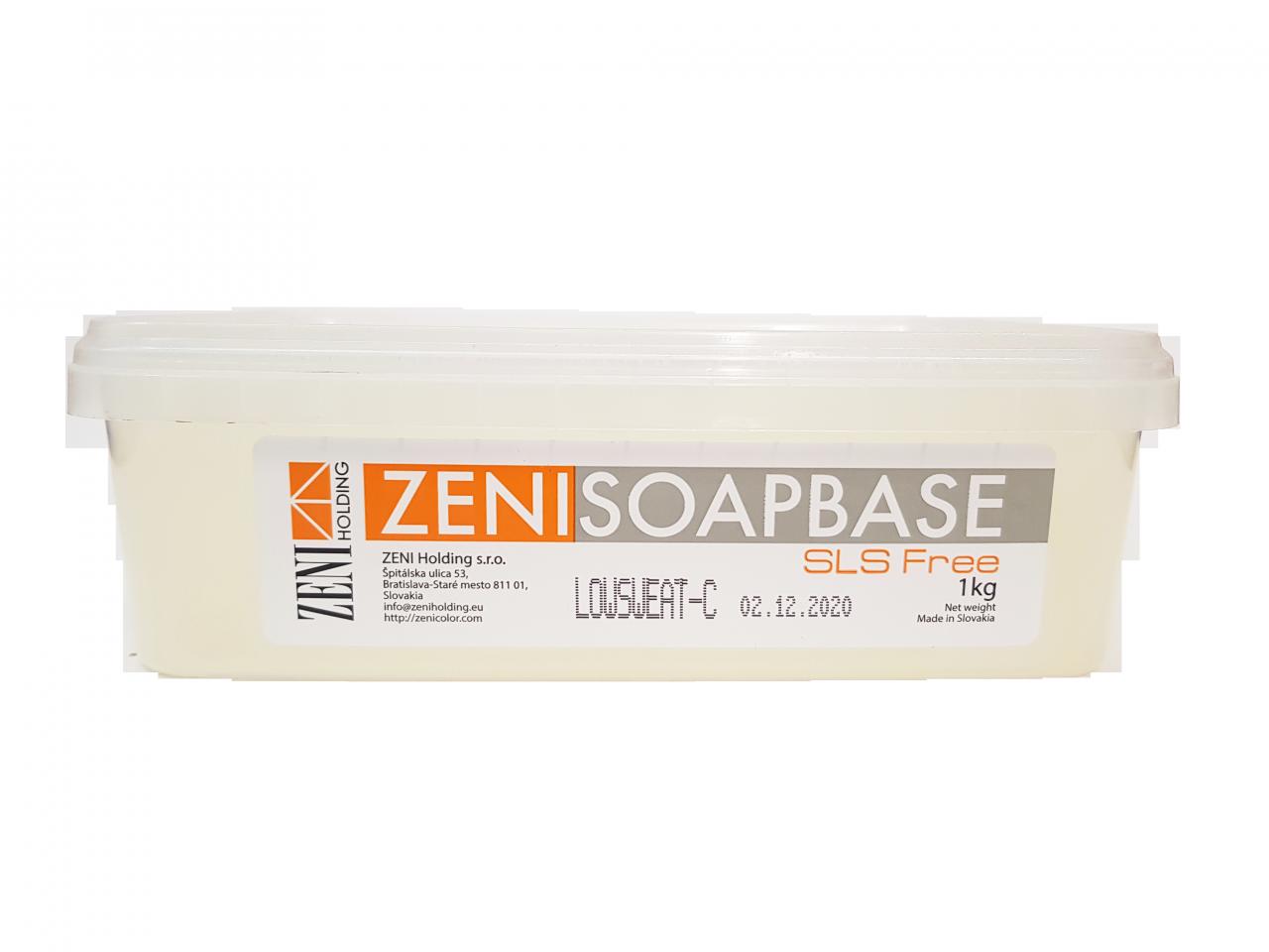 Zeni párásodás- és SLS-mentes szappanalap (transzparens) 1 kg