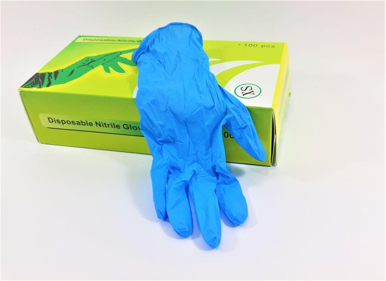 Nitril gumikesztyű XS méretű