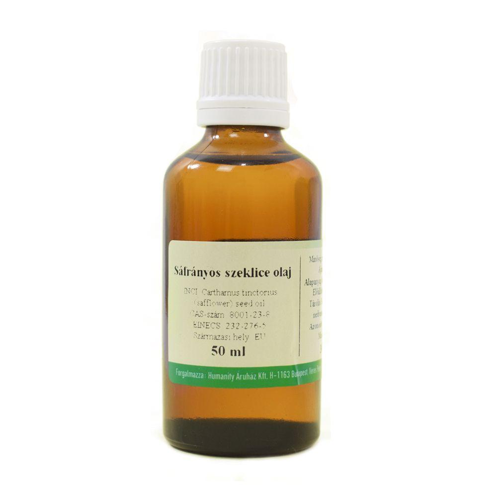 Sáfrányos szeklice olaj 50 ml