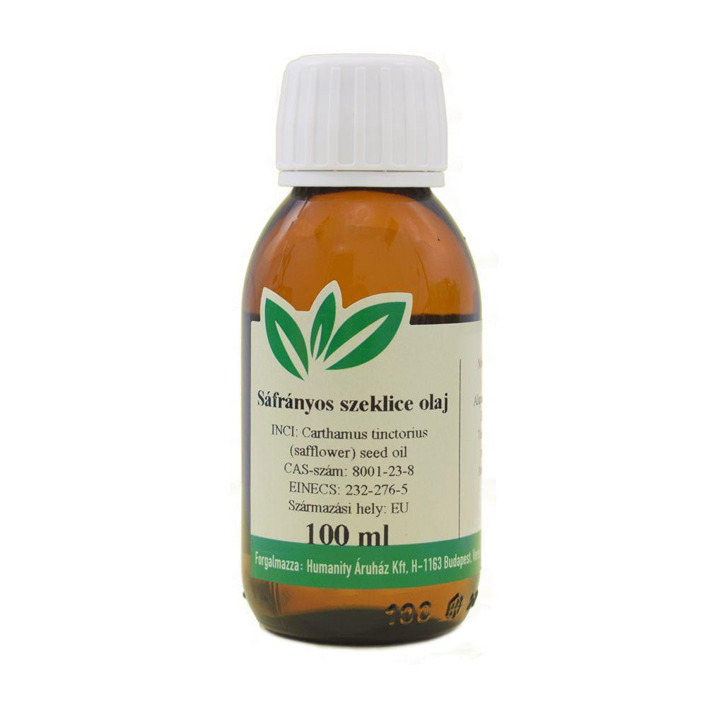 Sáfrányos szeklice olaj 100 ml