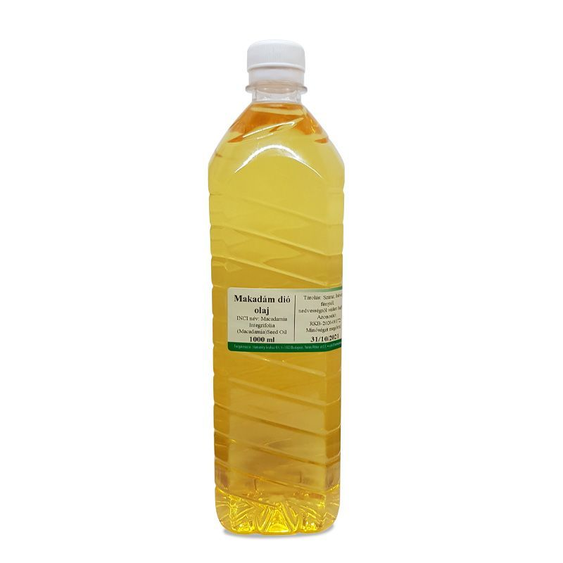 Makadámdió olaj 1 liter